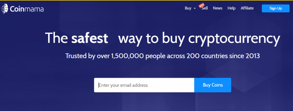 Coinmama buy crypto