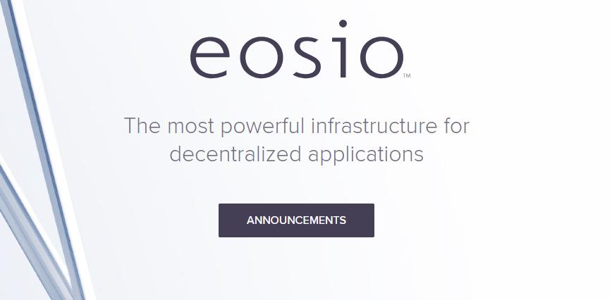 EOSIO another blockchain competitor