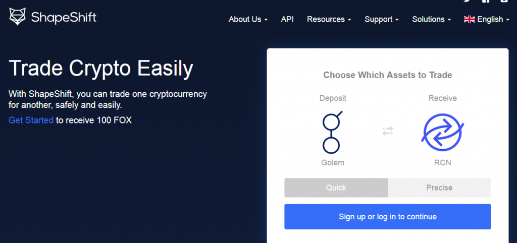 Buy crypto without exchange Shapeshift