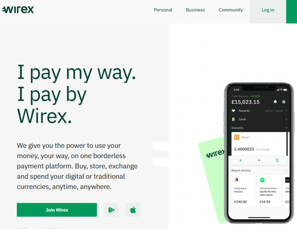 Buy crypto without exchange Wirex