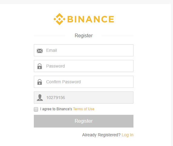 Buy NEO & Binance signup