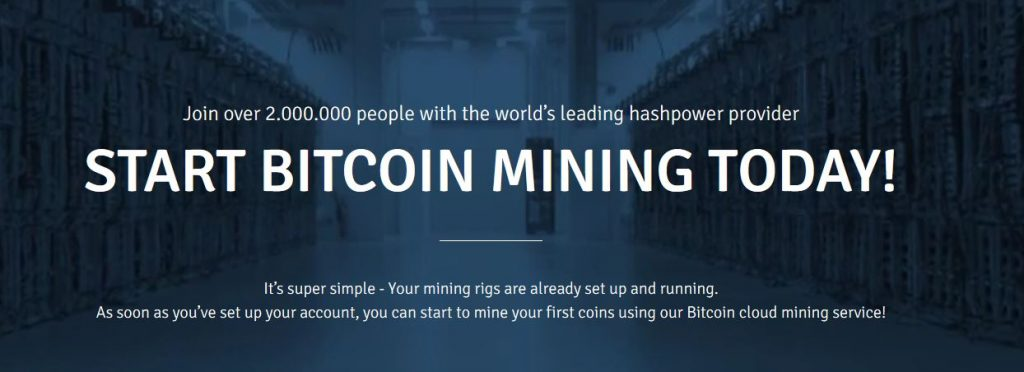 Get Free Bitcoin with cloud mining