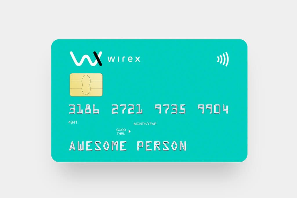 Wirex crypto debit card important tools
