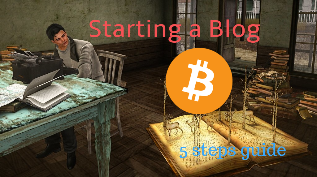 Bitcoin blogger steps