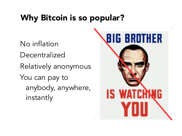Bitcoin & cryptocurrency popular
