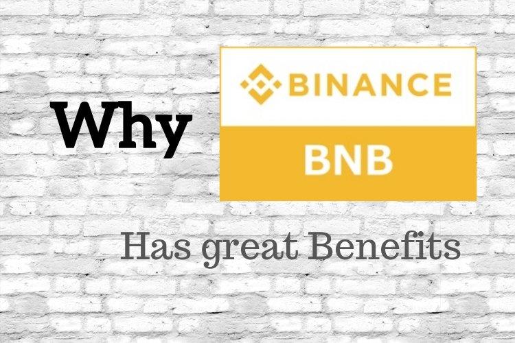 Why Binance Coin has Benefits