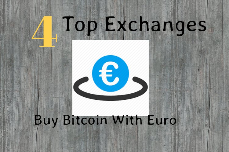 Buy Bitcoin With Euro