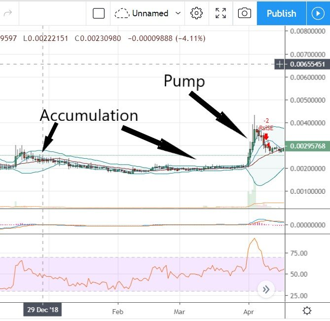 Dogecoin accumulation and pump