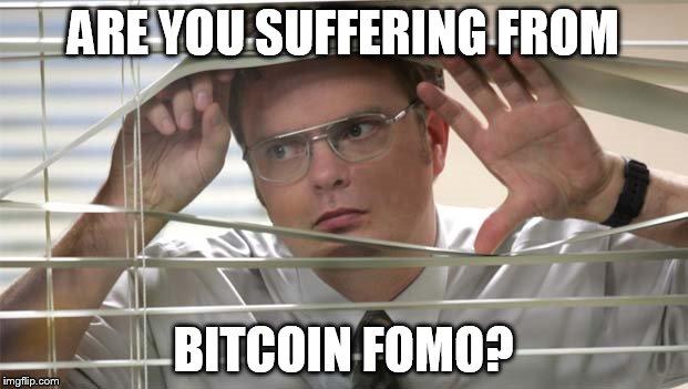 Crypto jargon FOMO
