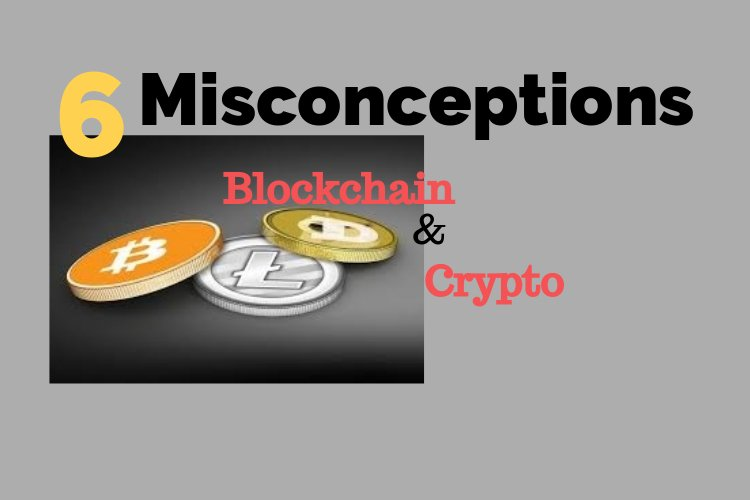 Misconceptions about cryptocurrency