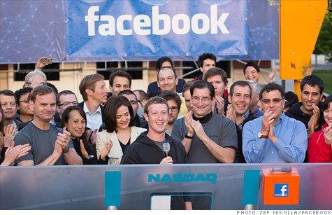 Facebook IPO raising funds