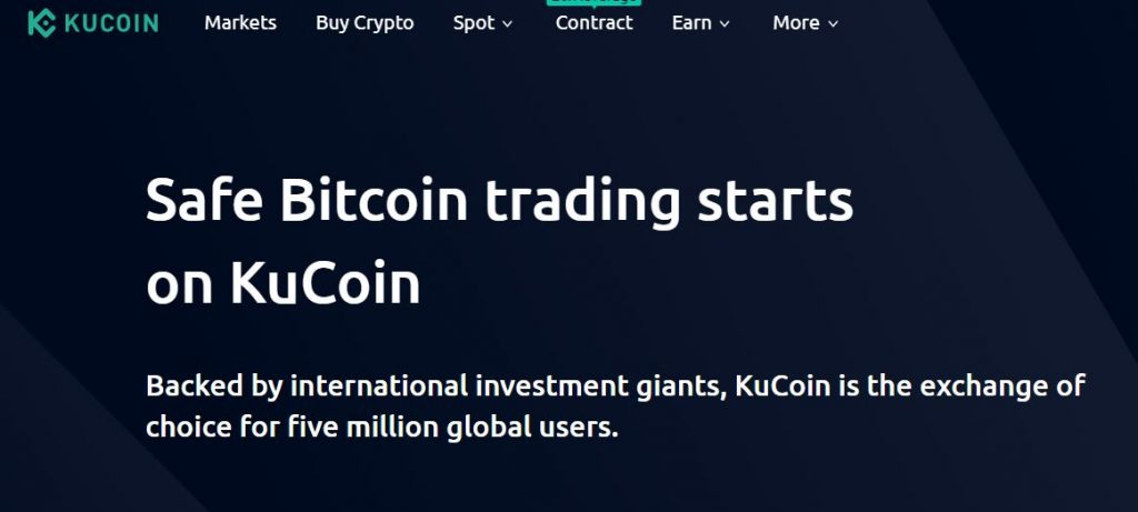 Place to buy VET KuCoin