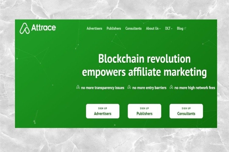 Attrace Review Affiliate Marketing with Blockchain