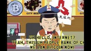 PBOC China ban on Bitcoin