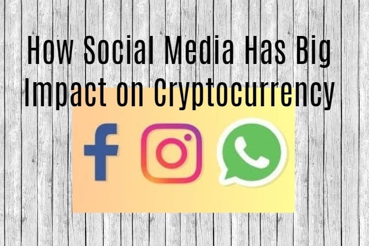 Cryptocurrency with Facebook Twitter