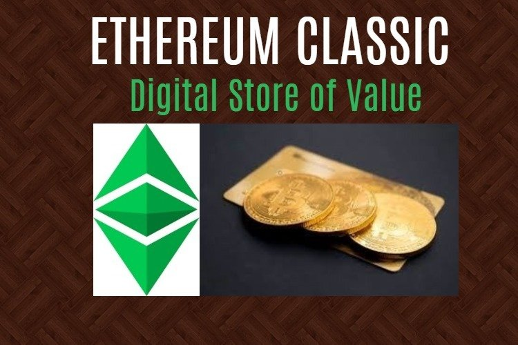 Digital store of value