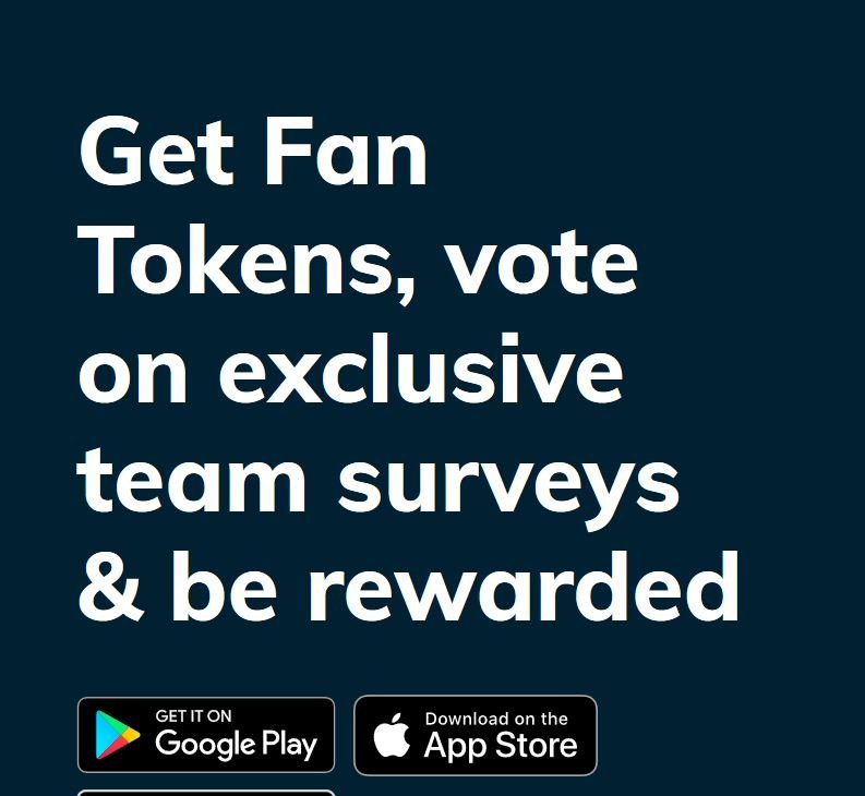 Get fan tokens on Chiliz network