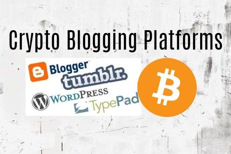 Crypto blogging platforms