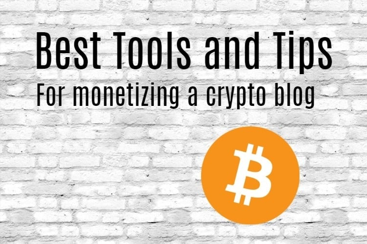Monetizing Crypto Blog