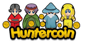Earn virtual currency with Huntercoin