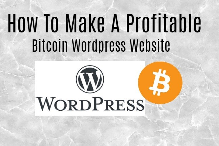 Bitcoin website Wordpress