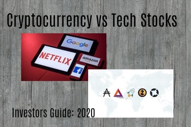 Cryptocurrency vs tech stocks