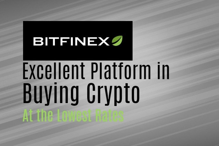 Buying crypto on Bitfinex exchange
