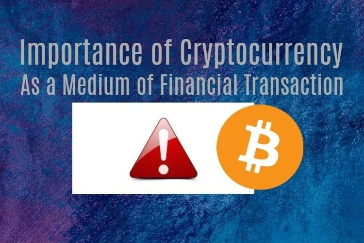 importance of cryptocurrency