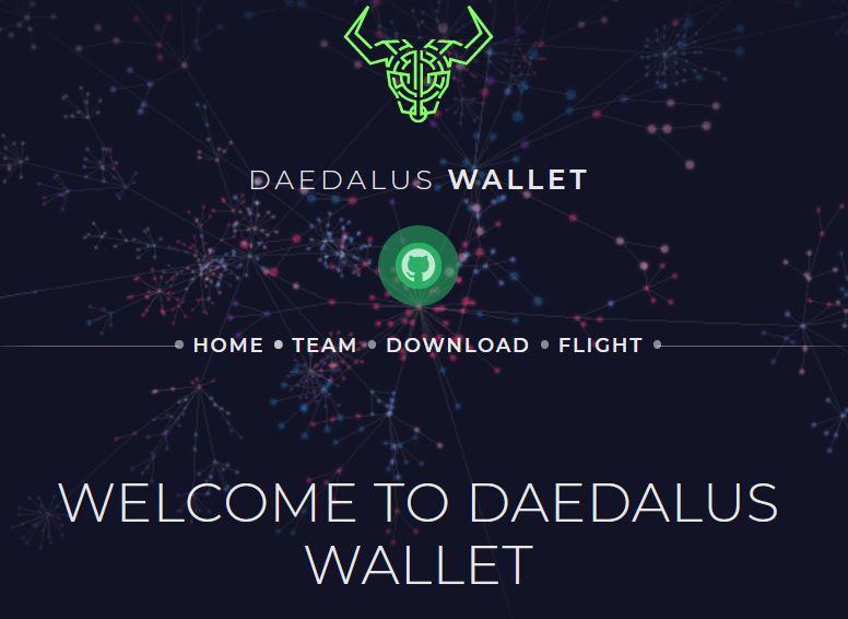 Daedalus: wallet to stake ADA