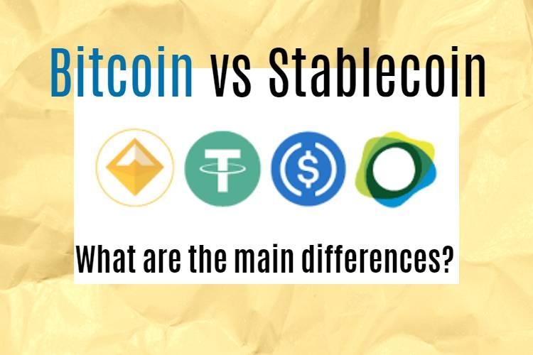 Stablecoin vs Bitcoin
