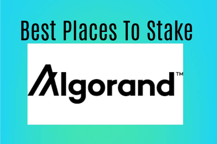where to stake Algorand