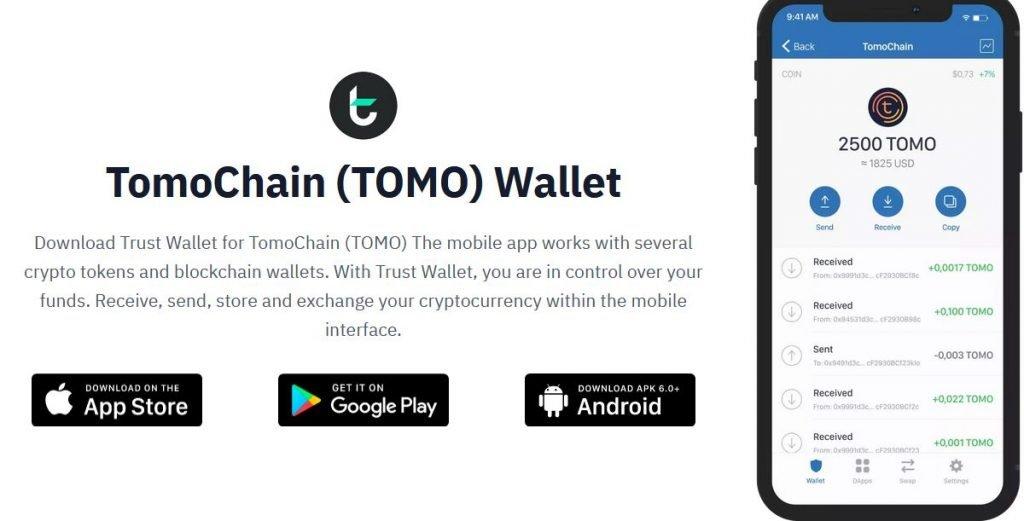 Staking TOMO on Trust Wallet