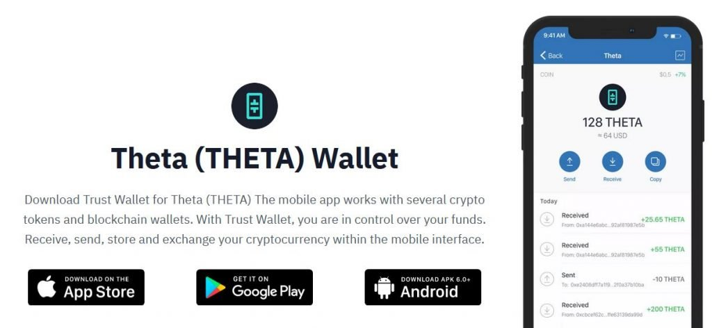 Theta on Trust Wallet