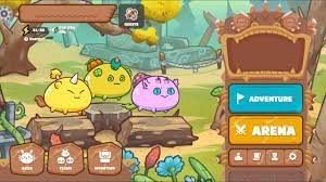 Axie Infinity game interface