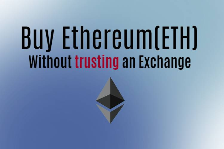 Buy Ethereum without exchange
