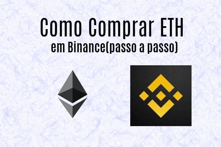Como comprar Ethereum na Binance