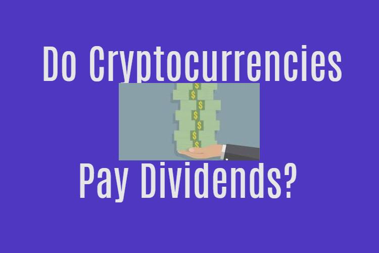 Do cryptocurrencies pay dividends